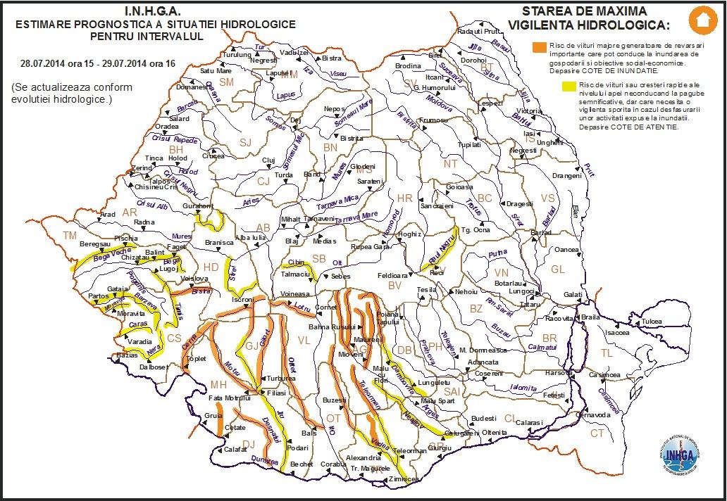 Pericol De Inundaţii In Zona Herculane Si Caransebes Radio
