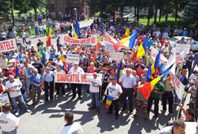 proteste petrosani