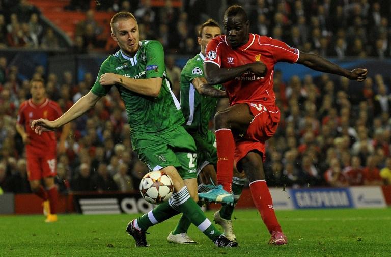 Cosmia Moti in meciul lui Ludogoret cu Liverpool din UCL