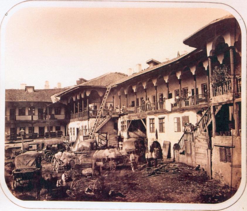 Hanul lui Manuc - foto Carol Popp de Szathmary