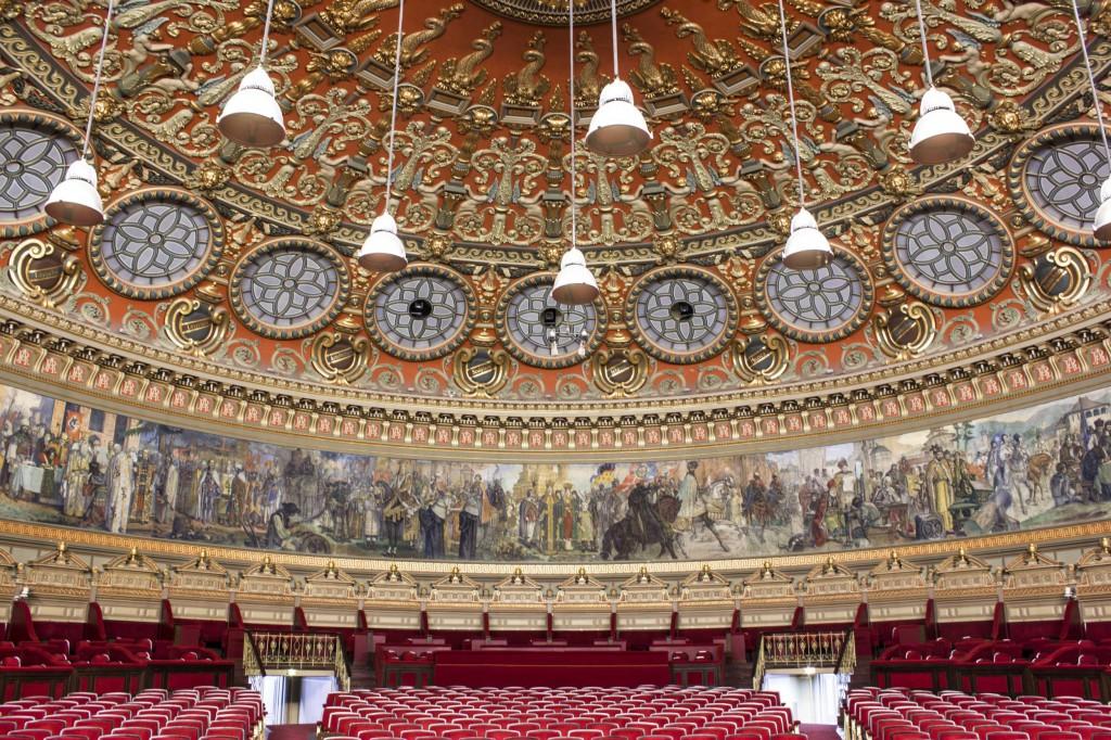 Ateneul Roman sala de concert