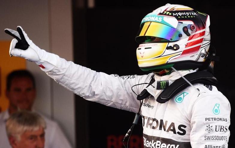 Lewis Hamilton F1, la Soci