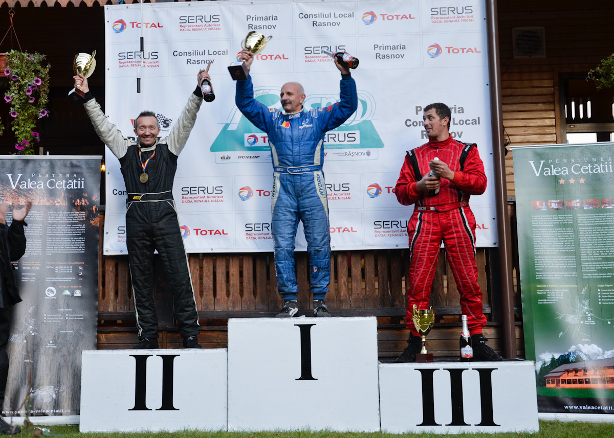 Lucien Hora locul 1 si Ovidiu Zaberca locul 2, la Rasnov 2014