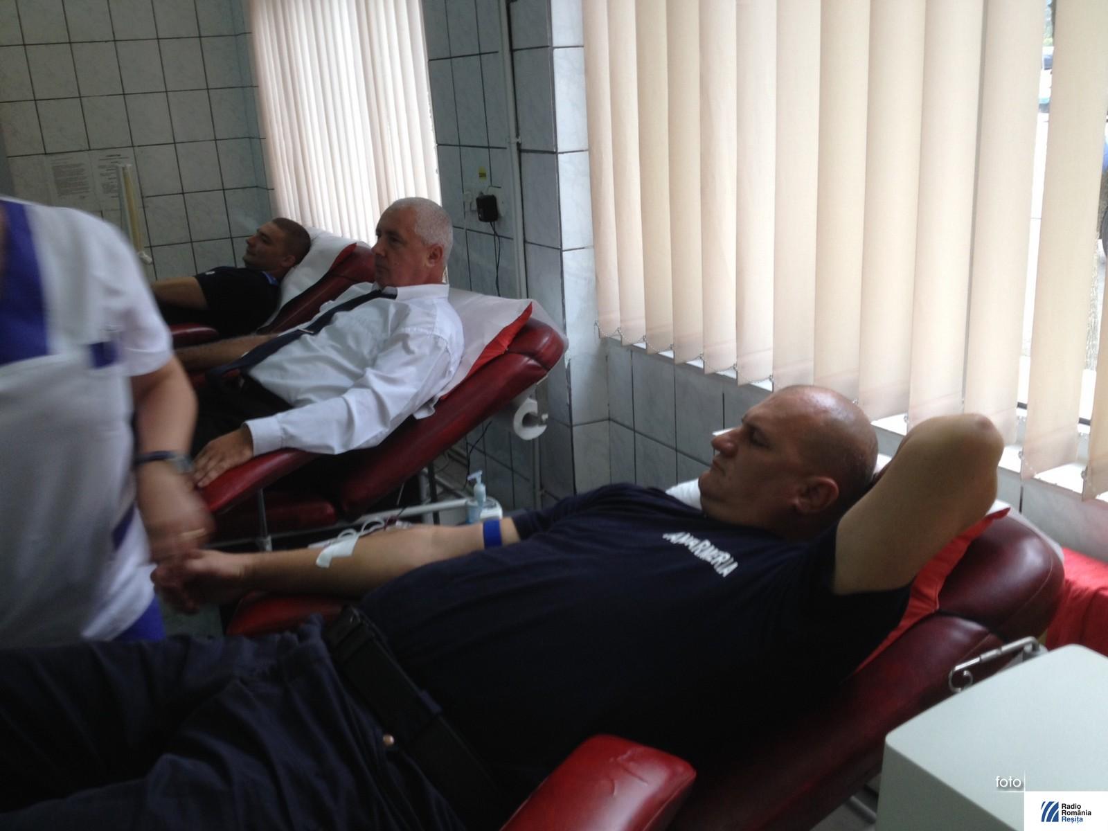 jandarmii donare sange (1)