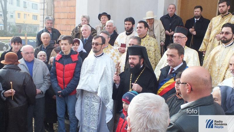 Binecuvantare biserica Moroasa