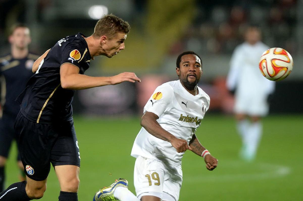 Bukari, autorul golului pentru Astra in meciul cu Dinamo Zagreb