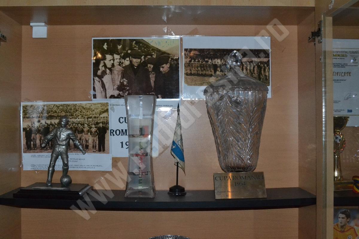 Metalul Resita, trofeul Cupa Romaniei din 1954
