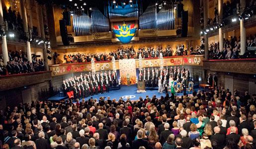 overview nobel prize ceremony