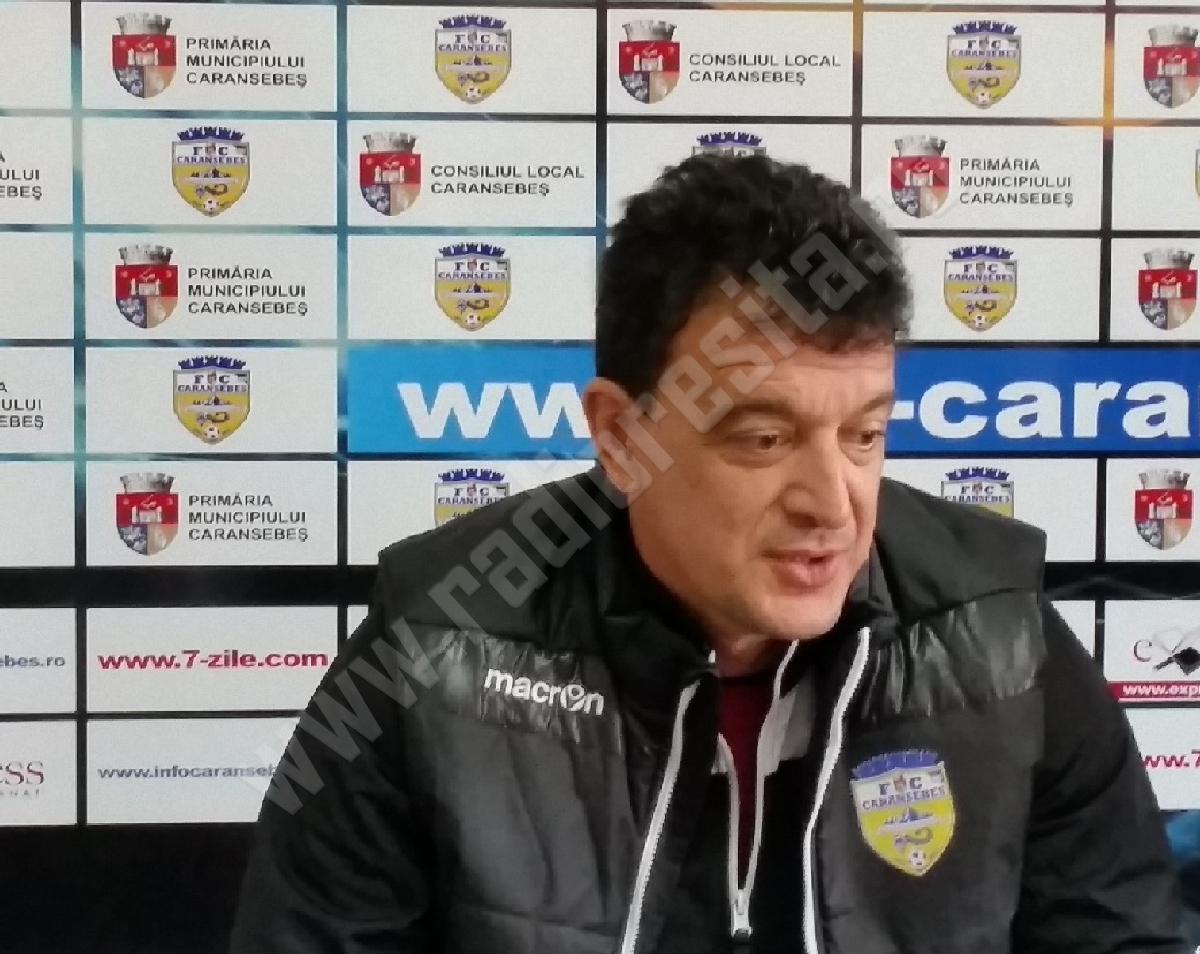 Alin Artimon, la FC Caransebes