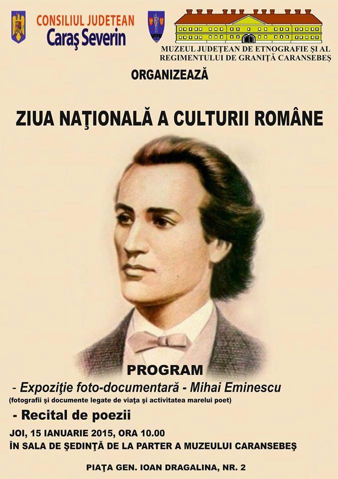 ziua nationala a culturii, mihai eminescu