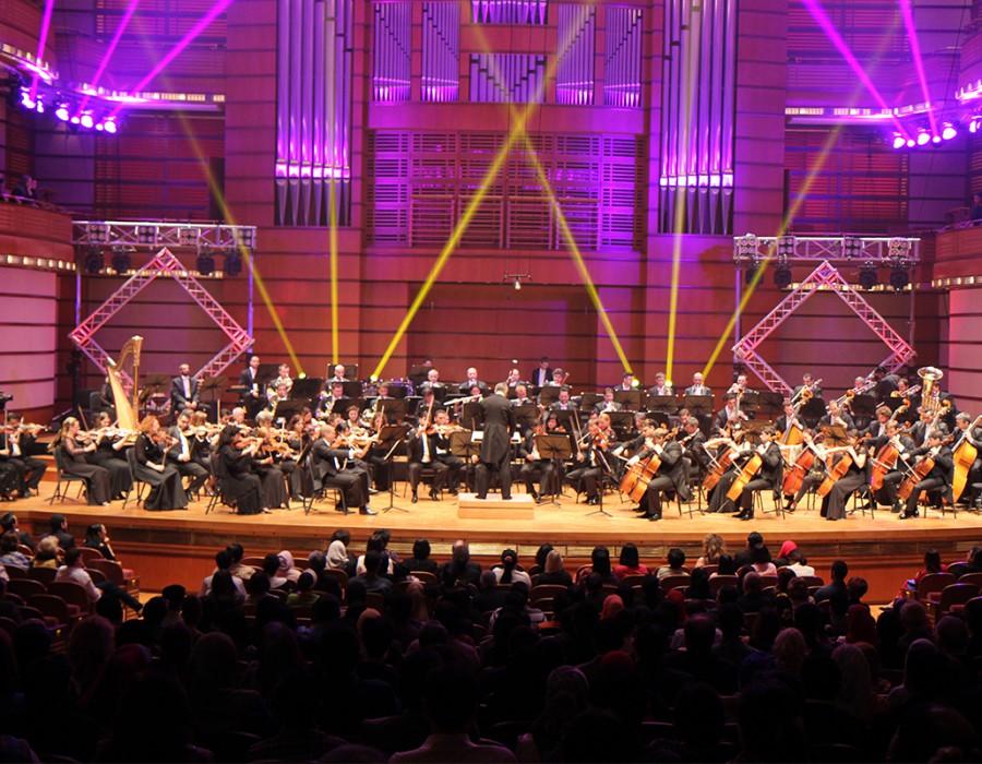 Orchestra Națională Radio în concert la Kuala Lumpur, Malaezia la World Summit on Media for Children