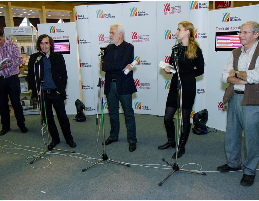 Târgul internațional Gaudeamus Radio România / 750 de evenimente și 320 expozanți