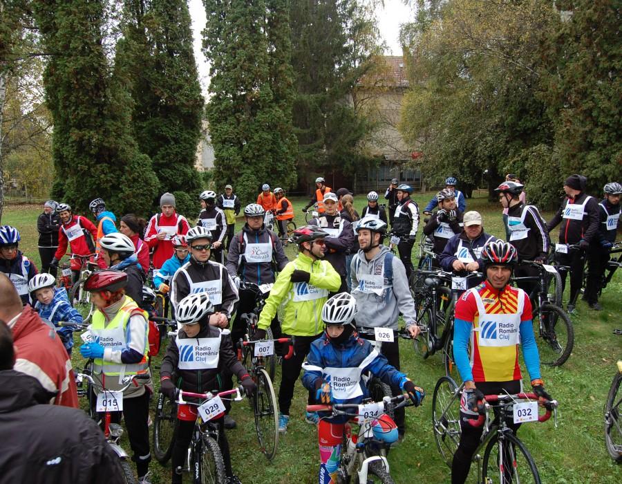 Caravana bicicletelor la Radio Cluj