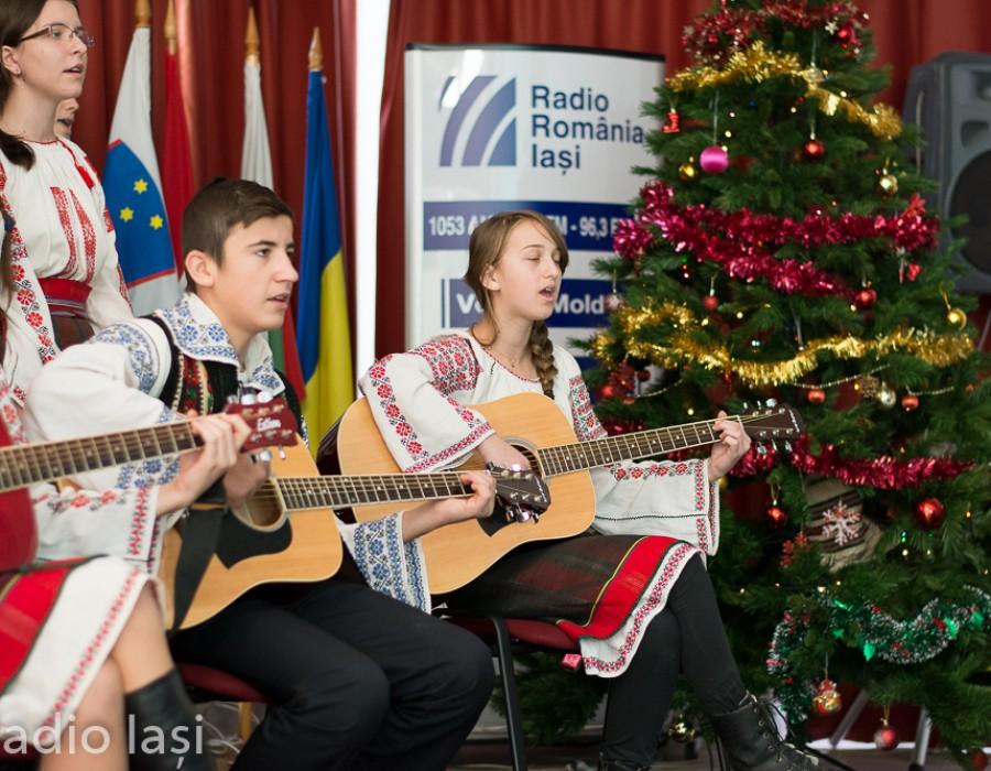 Concert de colinde la Radio Iași