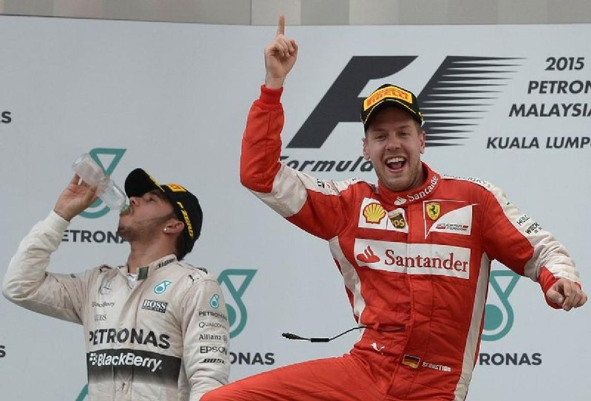 Vettel castiga cu Ferrari