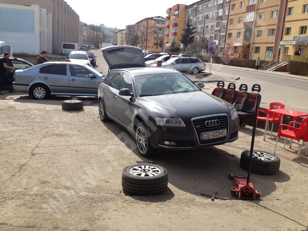 schimb cauciucuri, masina (2)