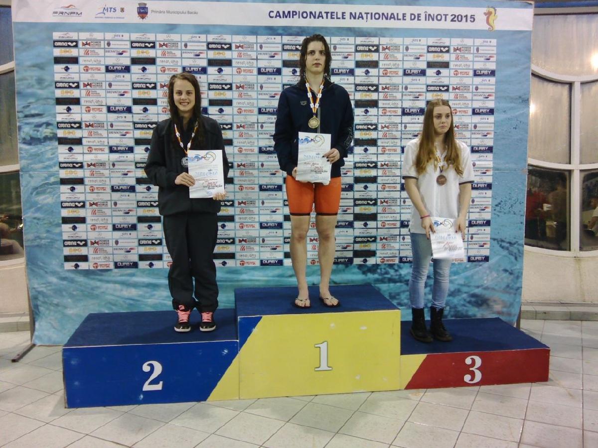 Andreea Augustinov, locul 2 la CN de la Bacau