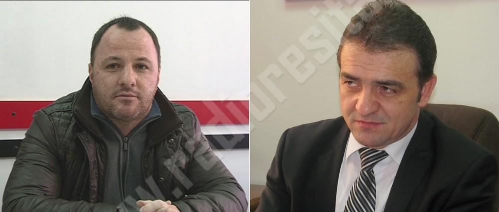 Catalin Rufa si primarul Mihai Stepanescu