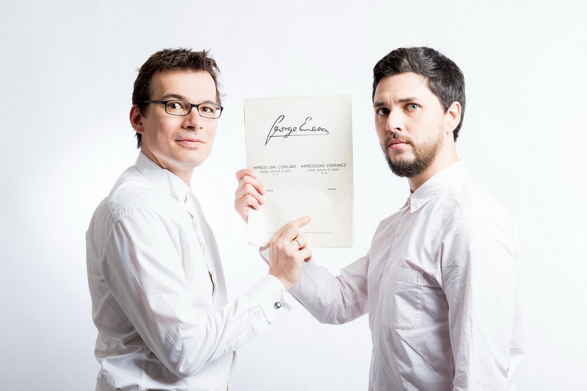 Alexandru Tomescu si Eduard Kunz