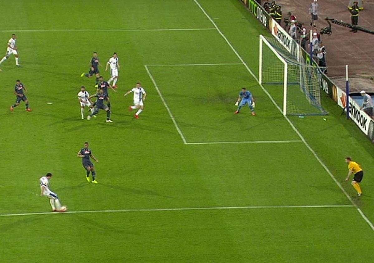 Napoli - Dnepr Dnepropetrovsk, 1-1, in semifinale