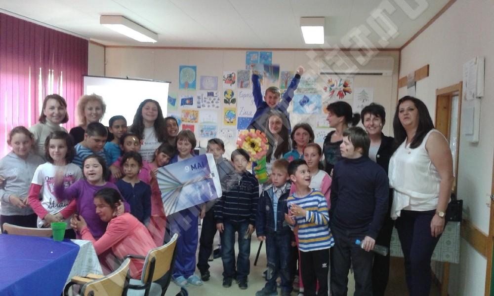 centru primavara -copiii
