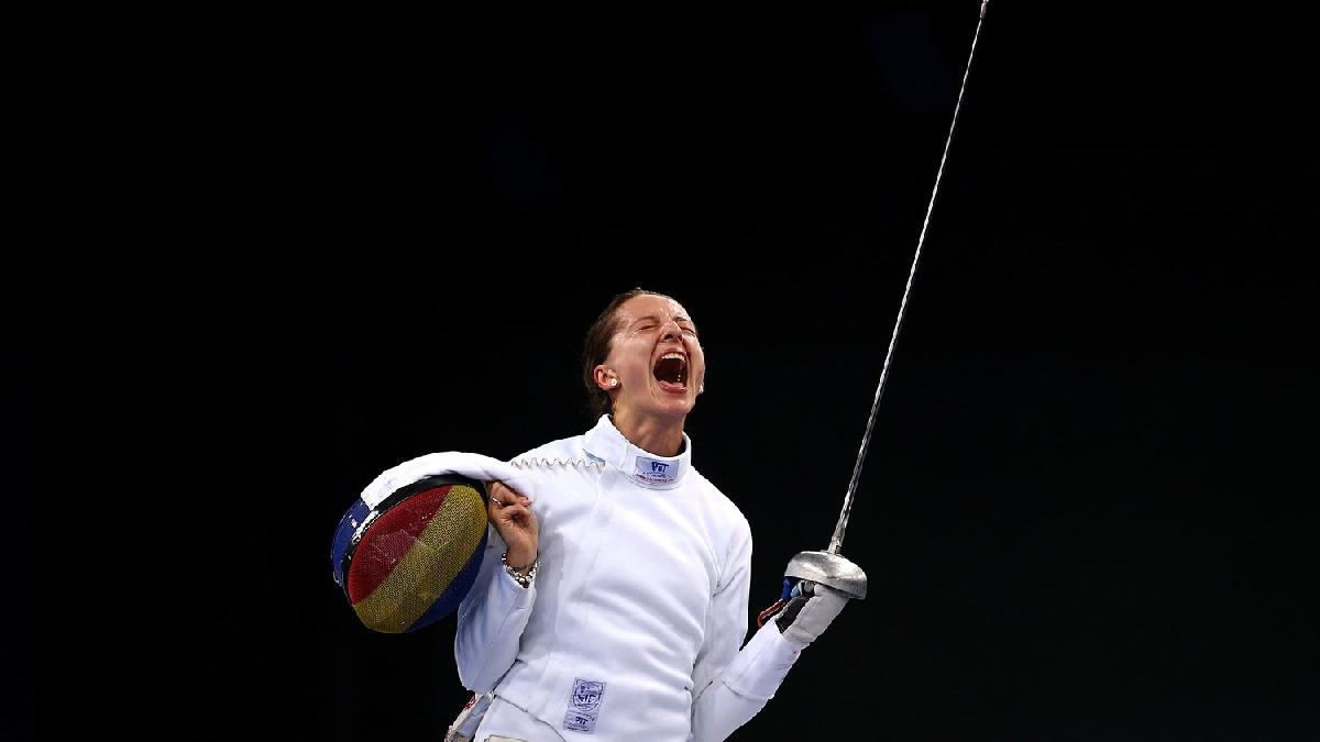 Ana Maria Branza medalie aur scrima Baku 2015