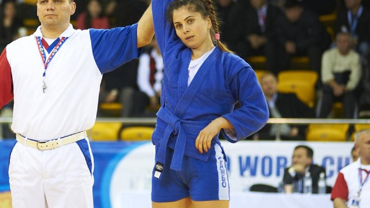 Daniela Hondiu sambo bronz Baku 2015