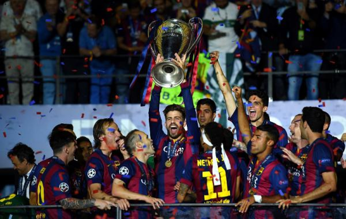 FC Barcelona castiga Liga Campionilor 2015