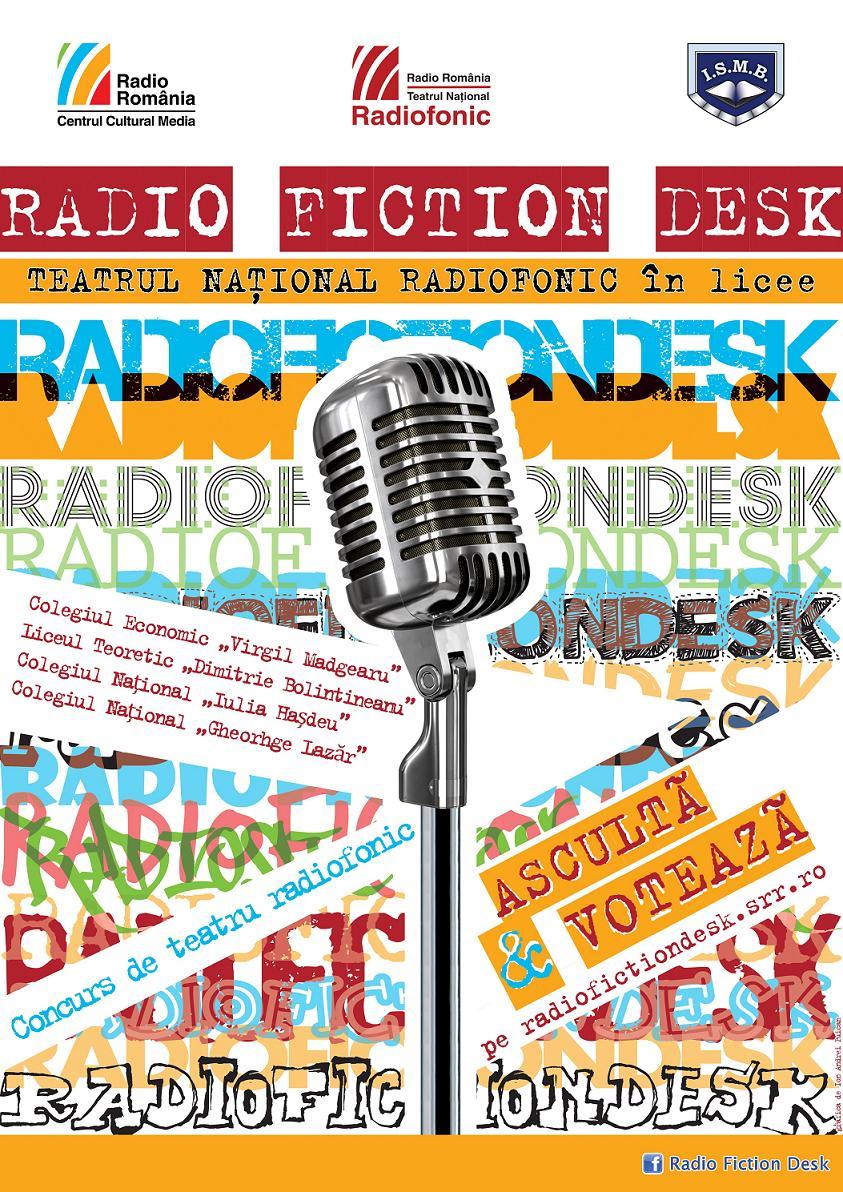 Radio Fiction Desk afis