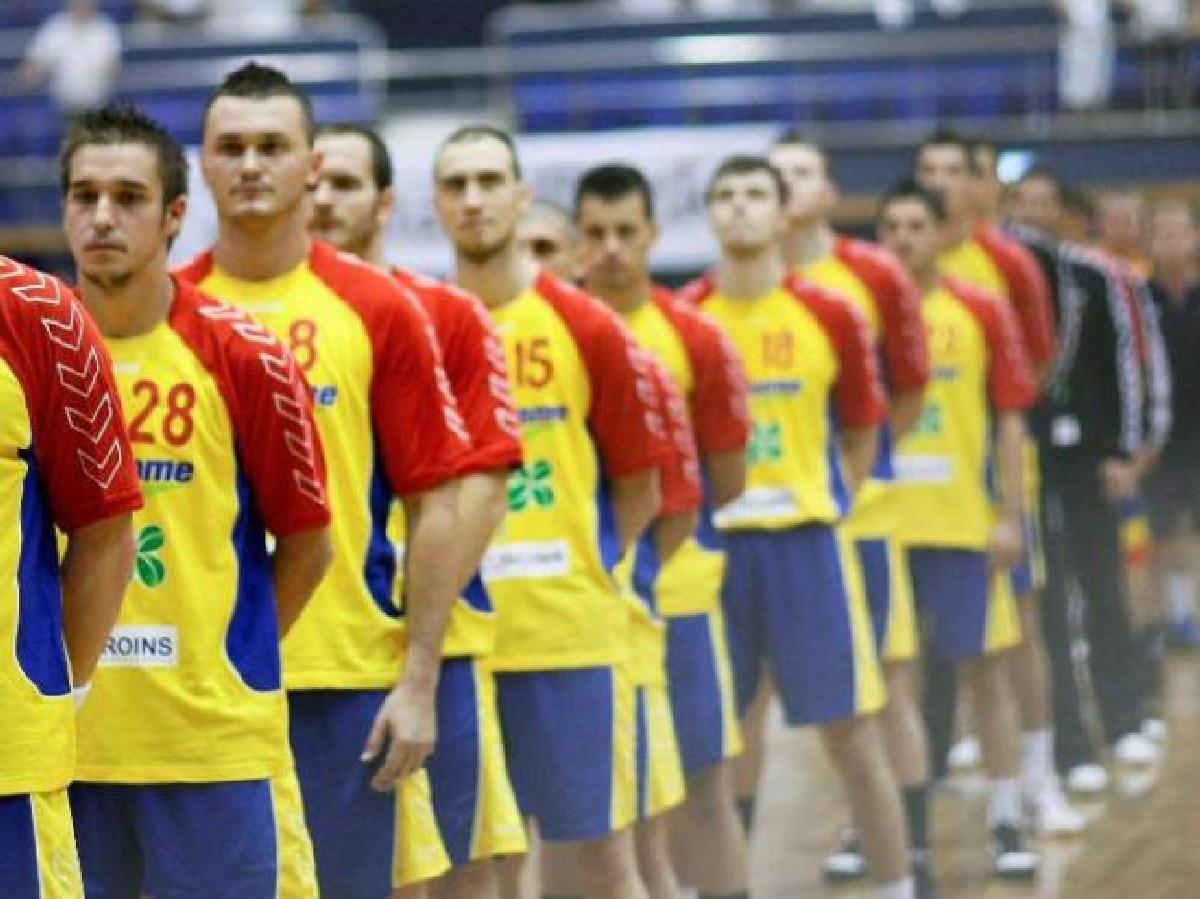 Romania handbal masculin preliminarii 2018