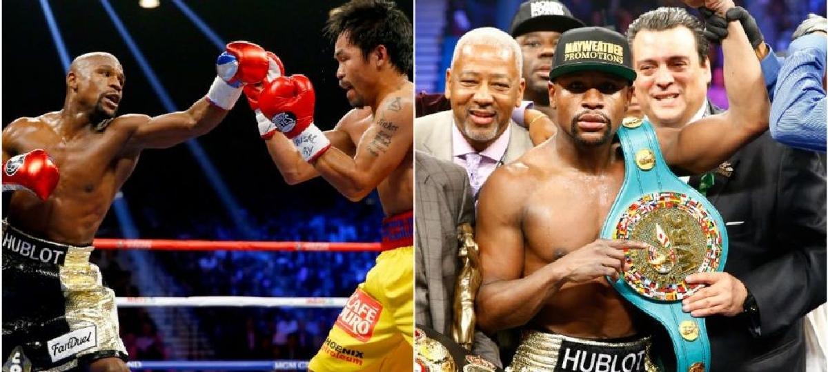 Mayweather ramane fara centura Manny Pacquiao