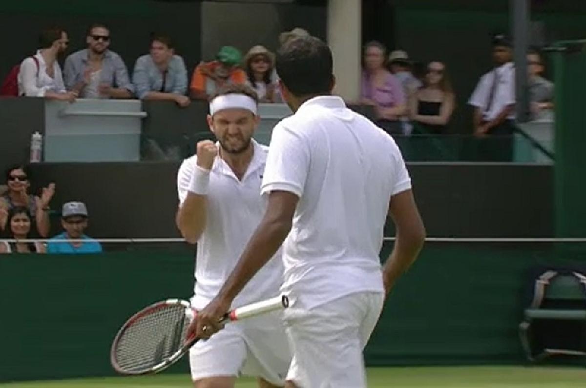 Mergea si Bopanna in optimi la Wimbledon