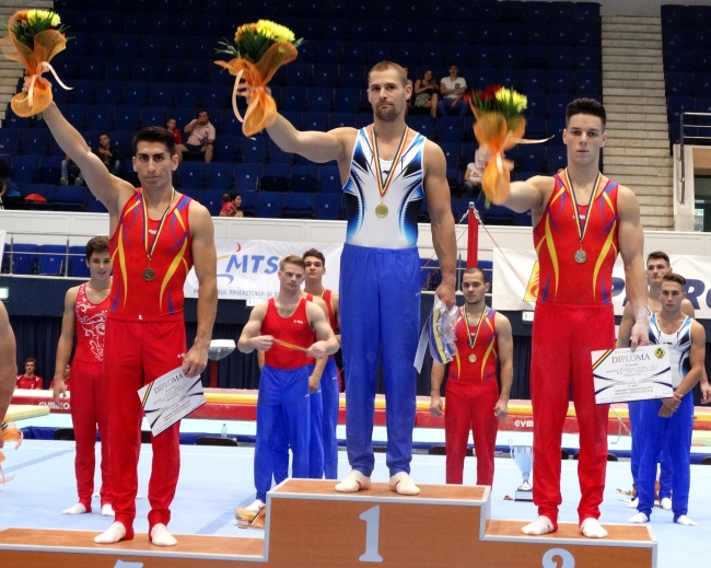 Cristian Bataga campion national podium individual compus