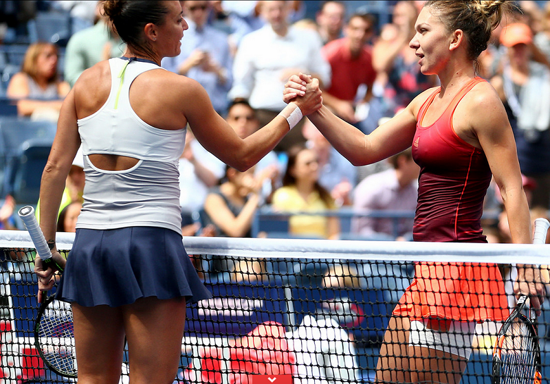 Halep si Pennetta in semifinala US Open 2015