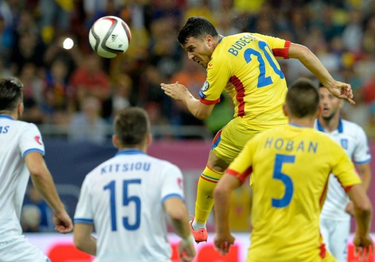 Romania-Grecia 0-0, Budescu