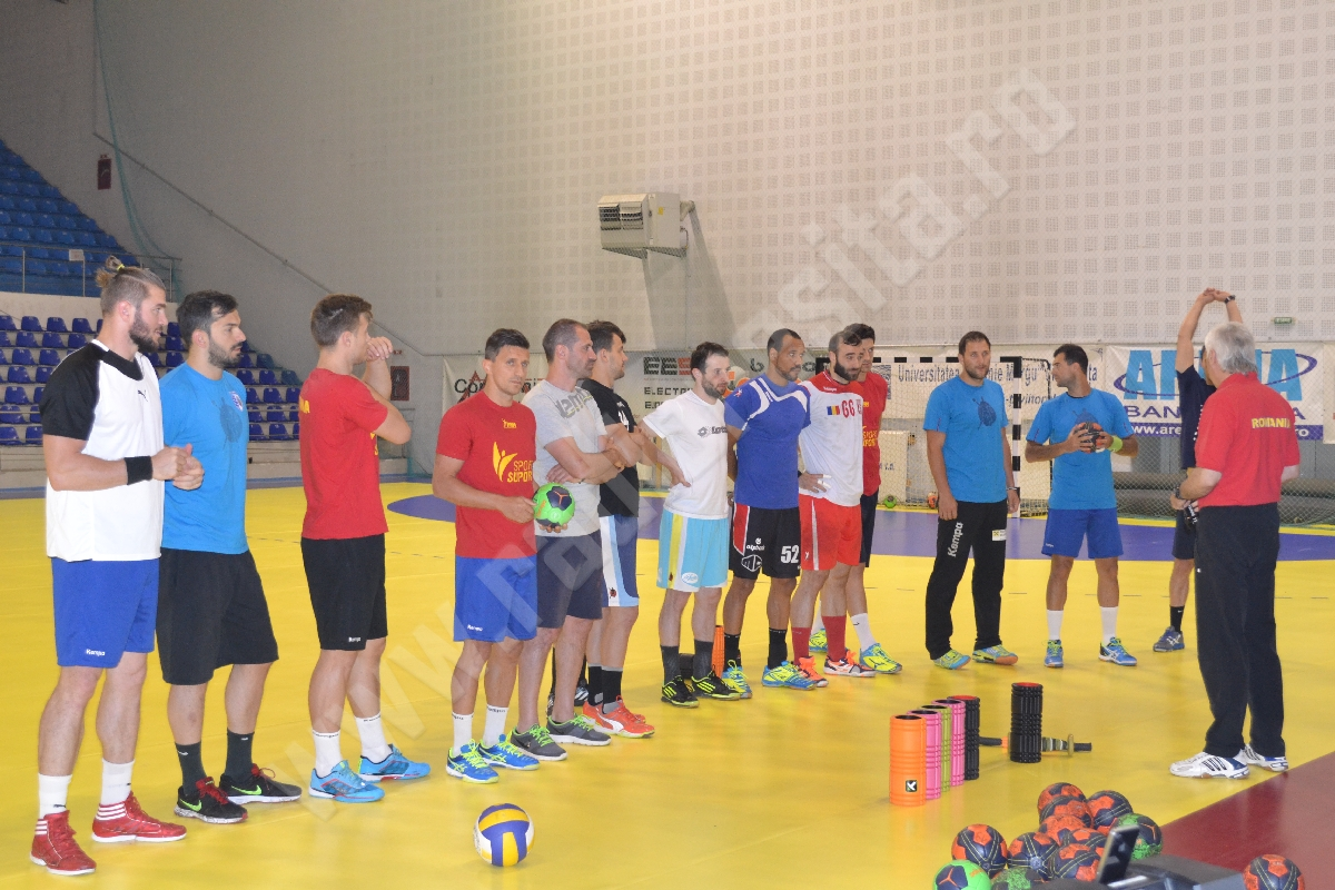handbal masculin nationala Aihan Omer pregatire Resita