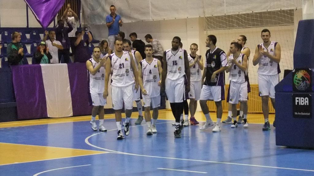 BC Timisoara la meciul cu CSU Sibiu