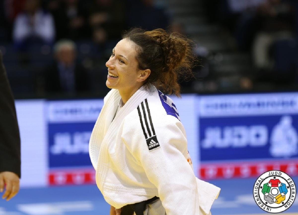 Andreea Chitu judo Grand Prix Jeju