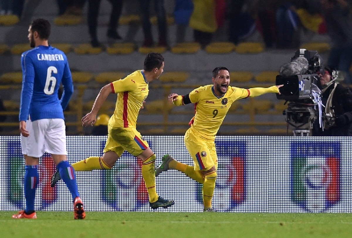 Italia-Romania 2-2 meci amical Bologna