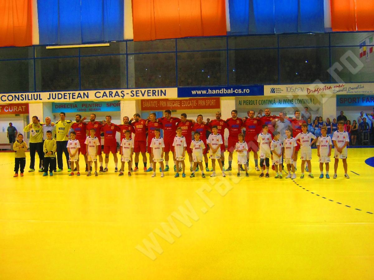 Romania-Italia precalificari EURO 2018 Resita handbal masculin (6)