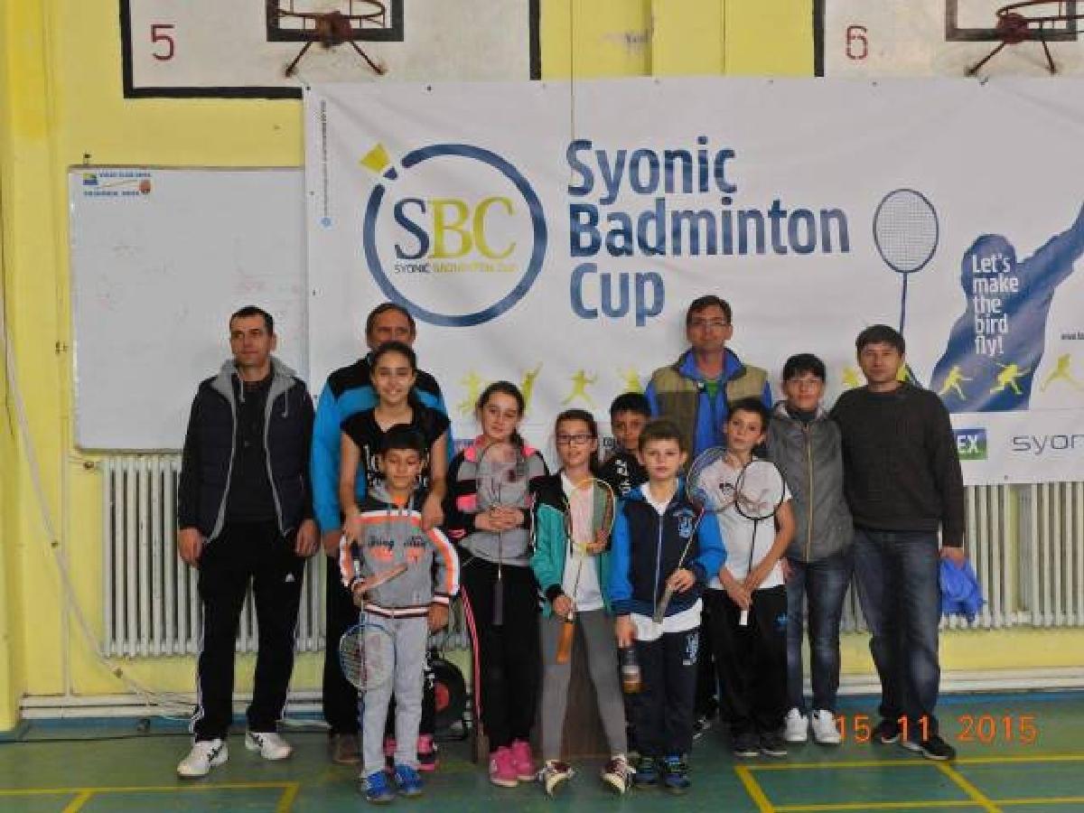 badminton Cupa Syonic etapa 3 Metalul Bocsa