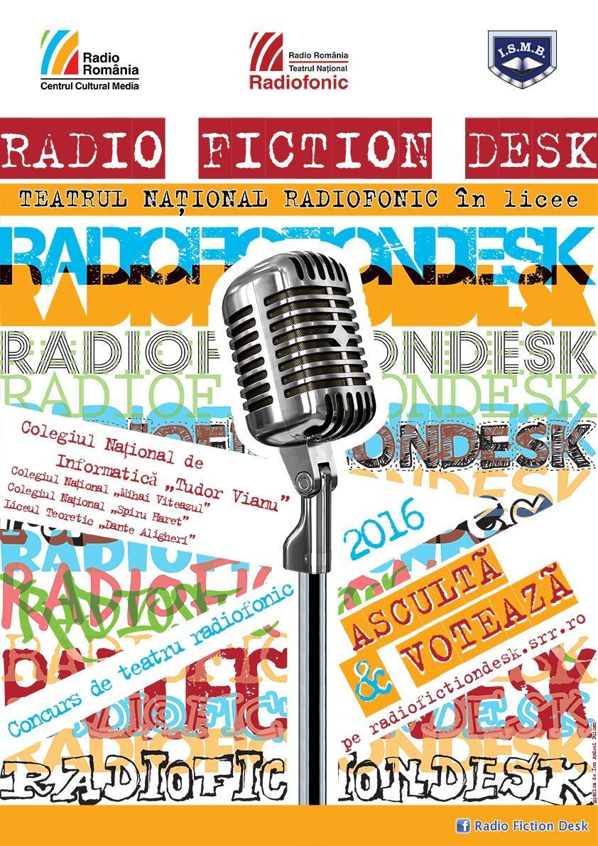 Radio Fiction Desk 2016 TudorVianu