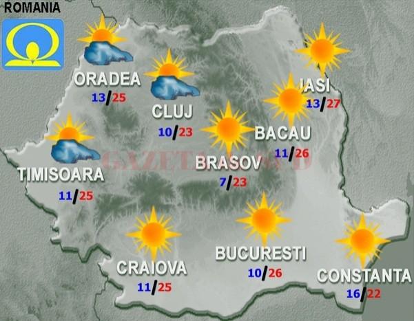 Vremea Se Schimbă Incepand De Maine Radio Romania Reșița
